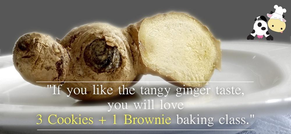 3 Cookie + 1 Brownie baking class