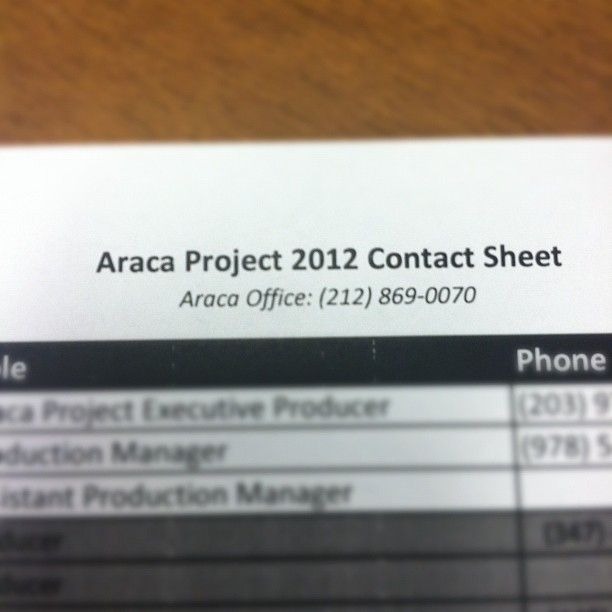 it's all really happening! (Taken with Instagram at The Araca Group)