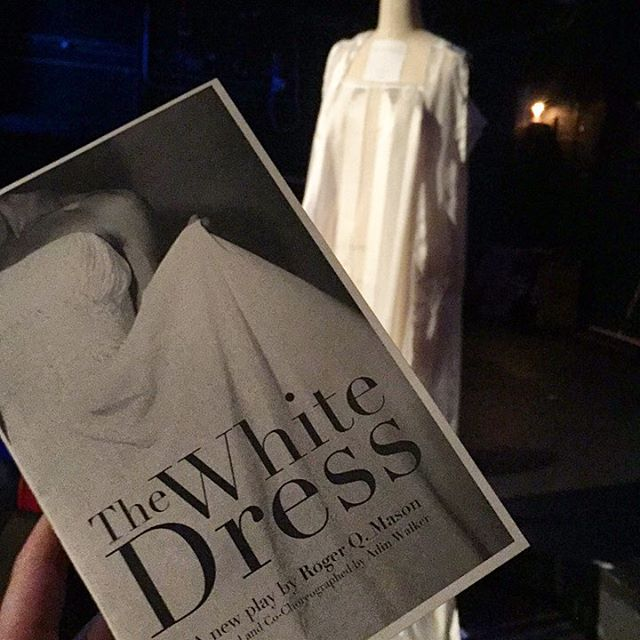 We're back at ATA closing out our season with @whitedressplay!
