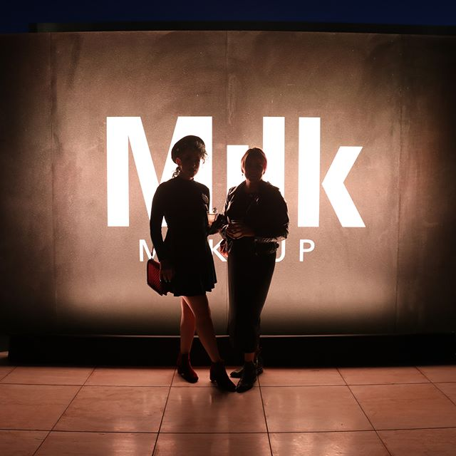 ✨⚡️swipe to see the new #cannabis 💨🎷🐛infused super mascara (and its incredible launch party!) @milk @milkmakeup | thanks @pompberry for everything!