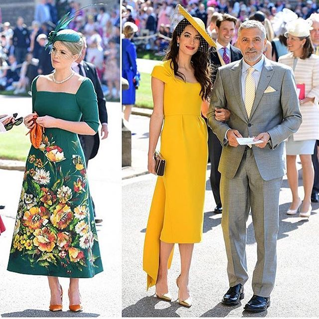 #KittySpencer and #AmalClooney totally win best dressed at the #royalwedding in my book 📚