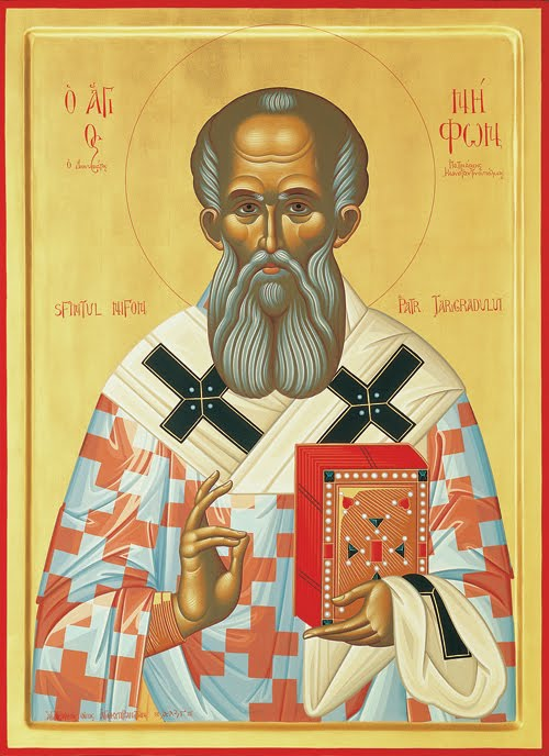 Saint Niphon, Patriarch of Constantinople
