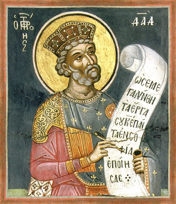 St. David the Prophet King