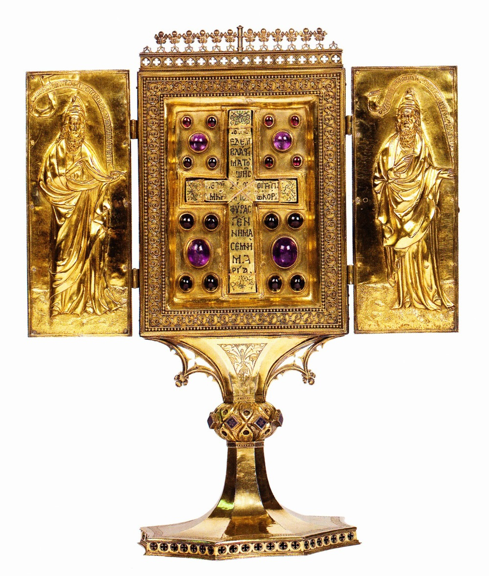 A reliquary containing the True Cross