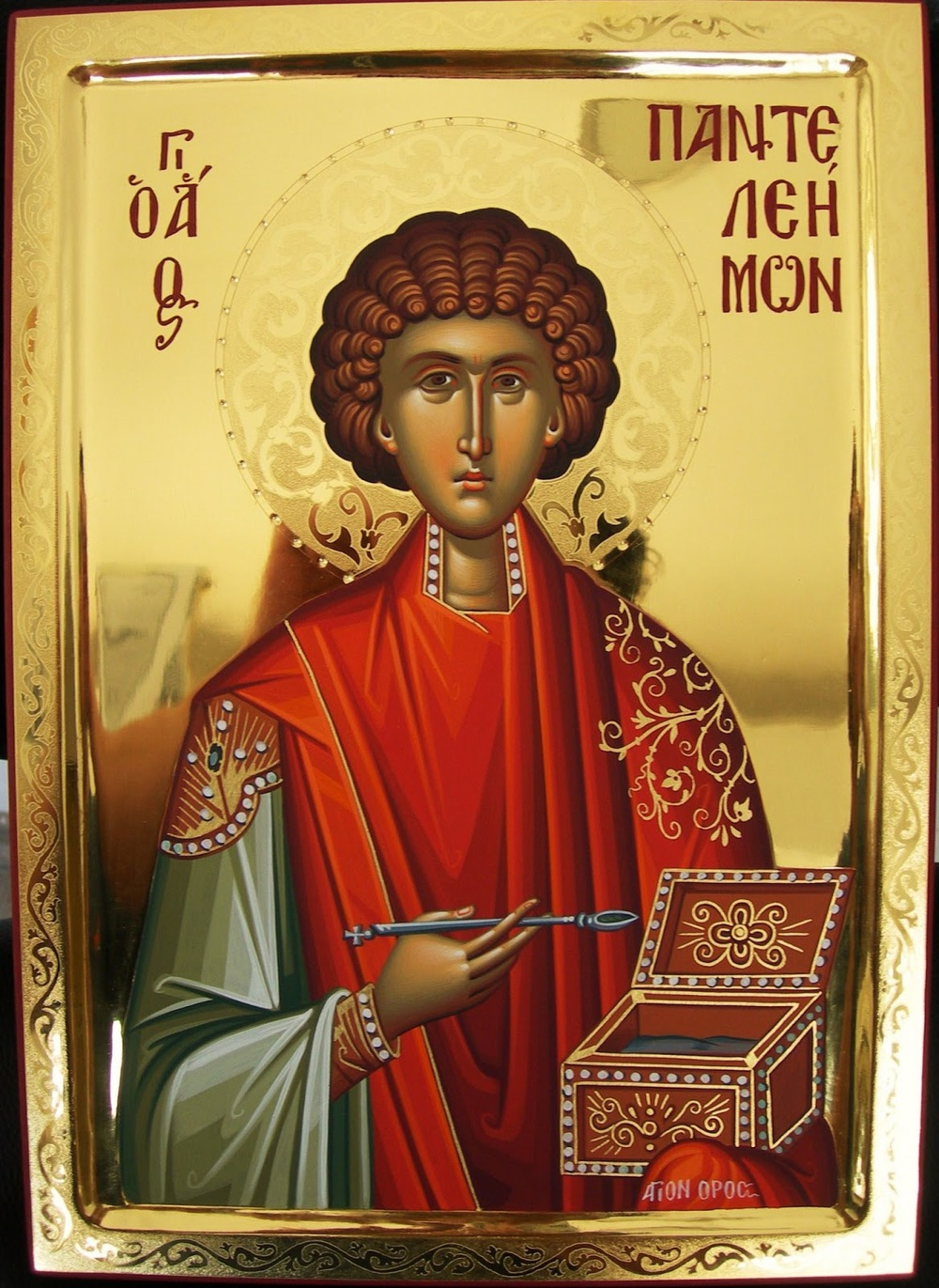 St. Panteleimon the Great Unmercenary Healer