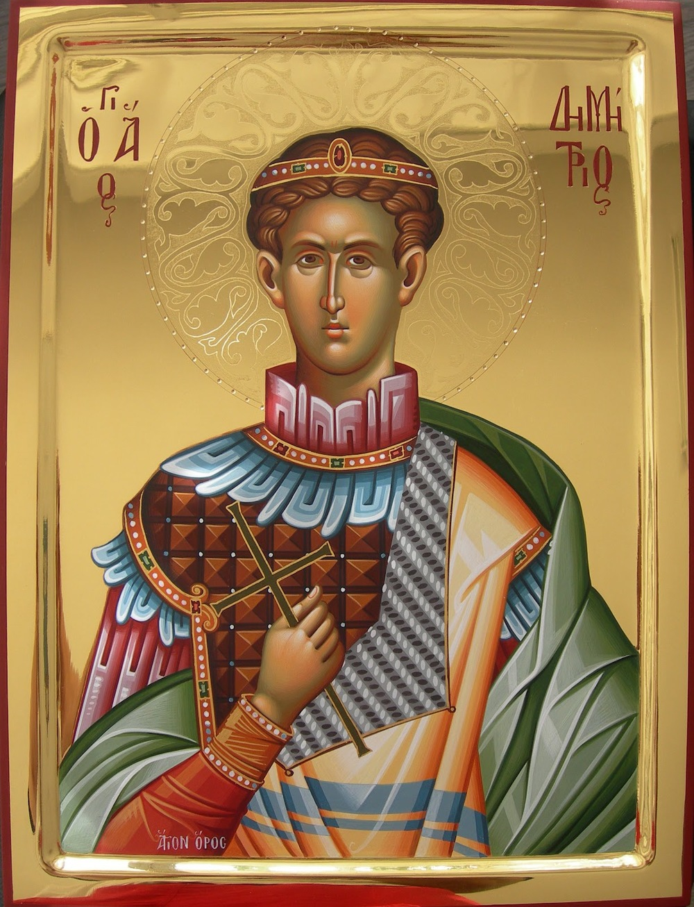 St. Demetrios, the Great Martyr and Myrrh-flower