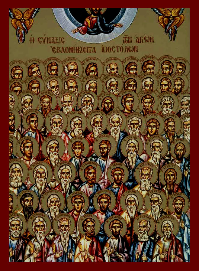 The Synaxis of the All-glorious 70 Apostles