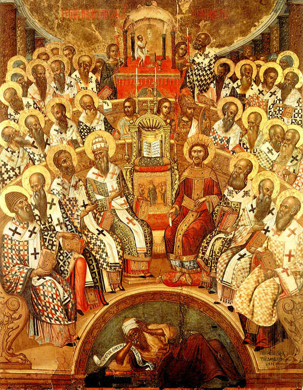 318 Holy Fathers of the First Ec. Synod in Nicea