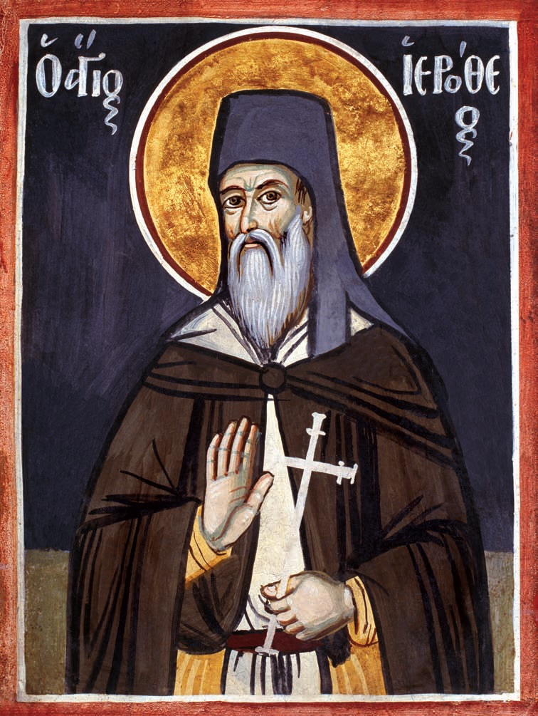 St. Hierotheos the New Venerable Ascetic of Kalamata