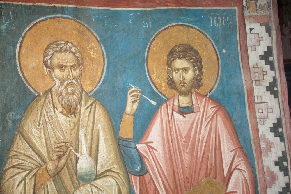 The Holy Unmercenaries Kyros and John