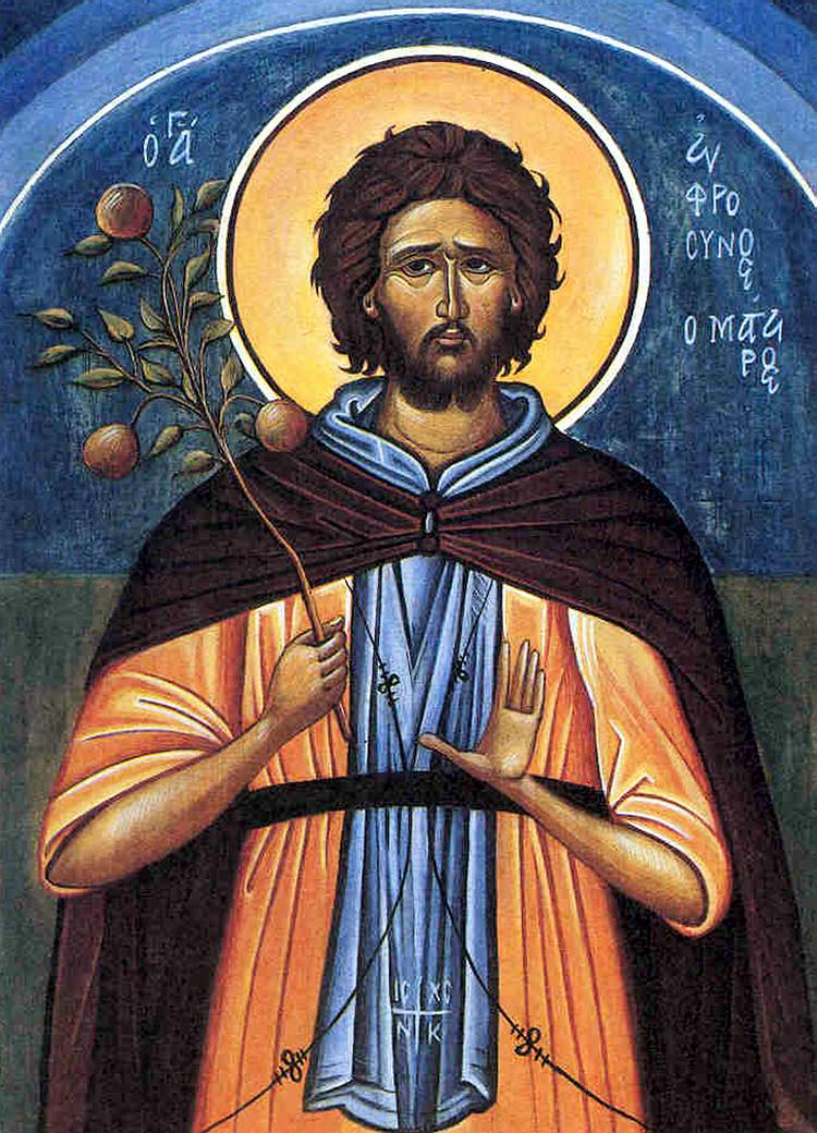 St. Efrosynos the Cook
