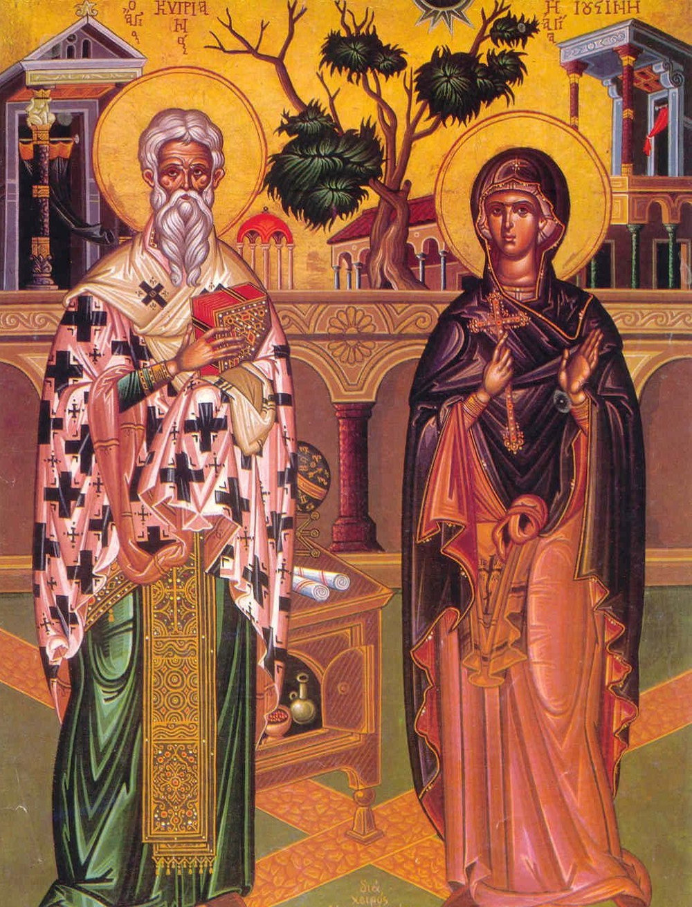 Sts. Cyprian and Justina