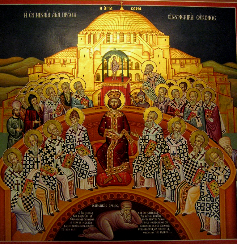 The First Ec. Synod in Nicaea