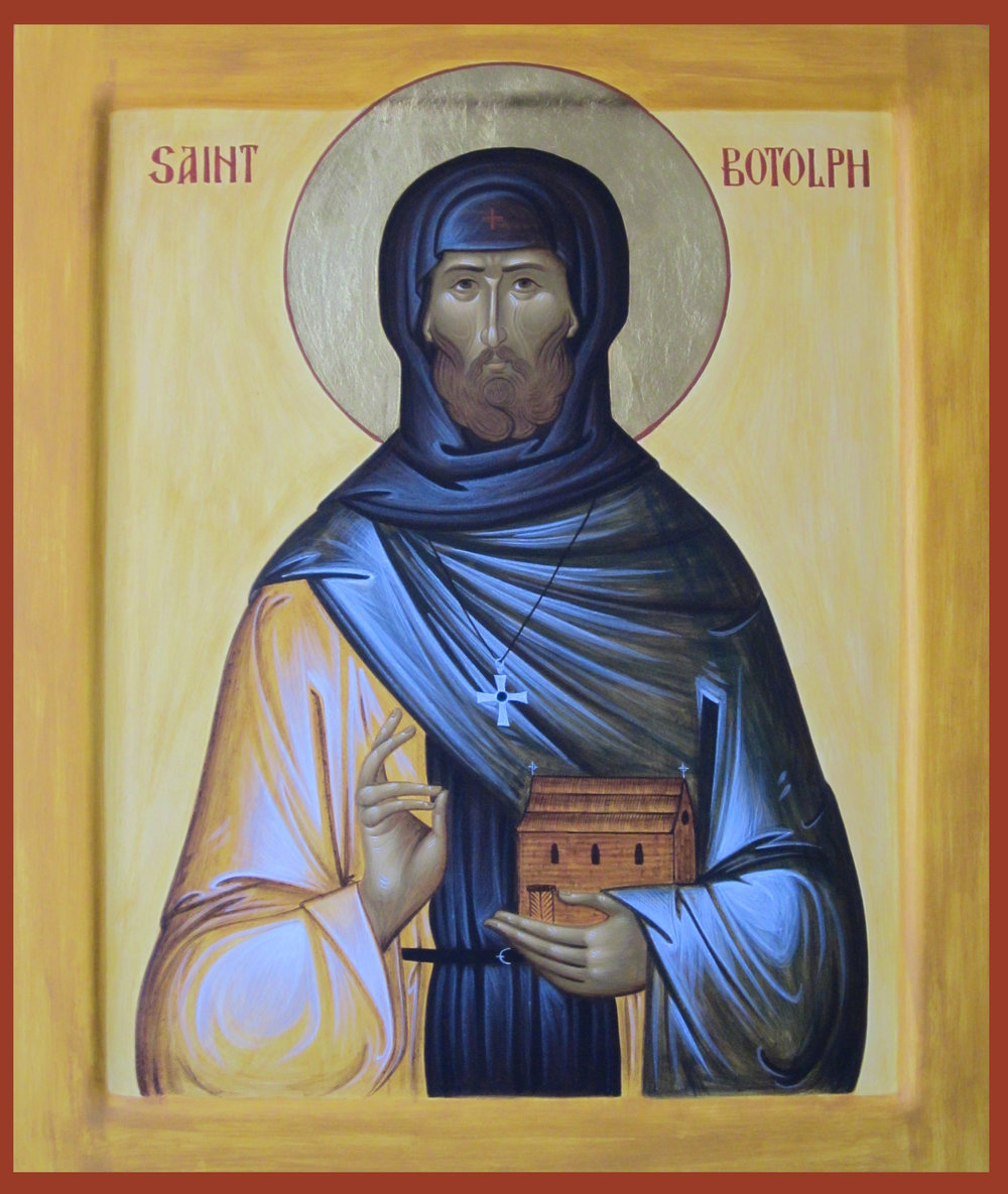 Righteous Father Botolph, Abbot of the Monastery of Ikanhoe