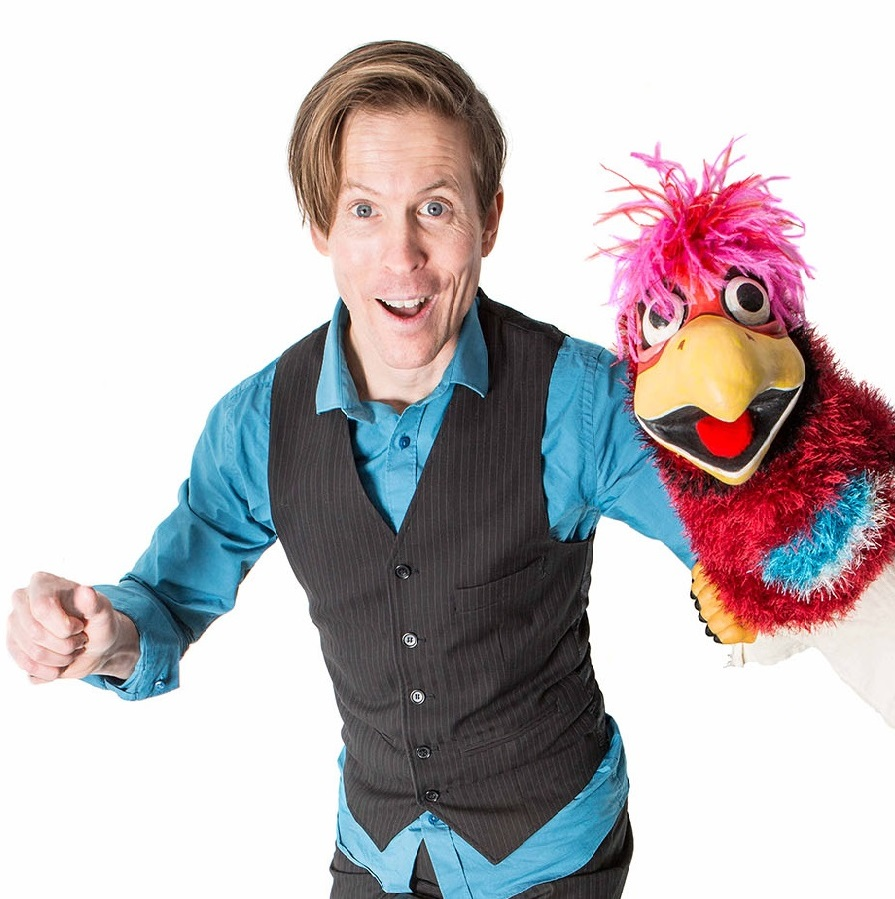 Tim Holland, Ventriloquist Main Stage at 2:00 pm