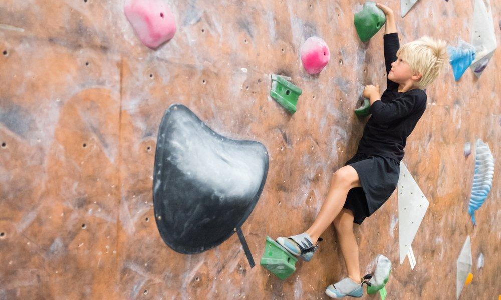 Altitude Gym climbing wall