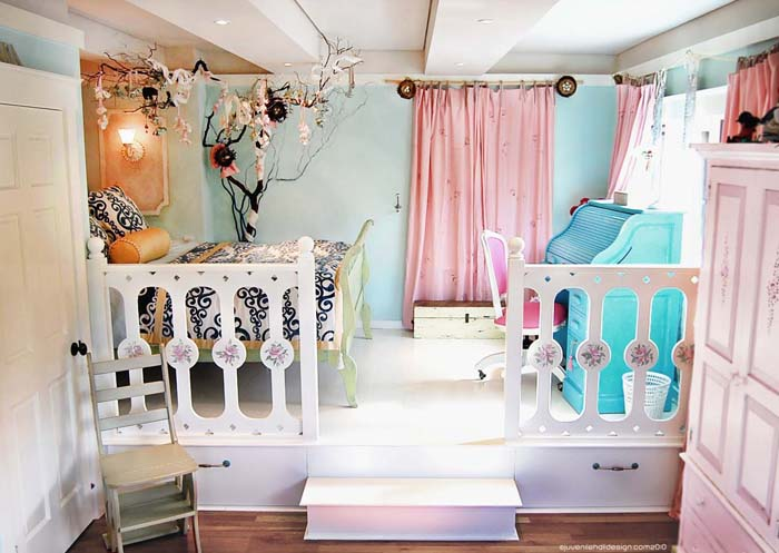 Porch Dreaming A Perfect Girls Room Summer Adventure