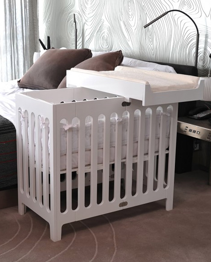The Mini Crib Is In Bloom Juvenile Hall Design