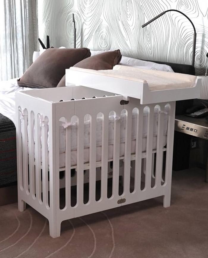 The Mini Crib Is In Bloom Juvenile Hall Design
