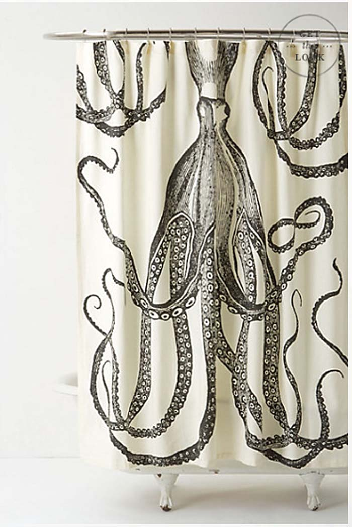 Octopus Garden Shower: Anthropologie