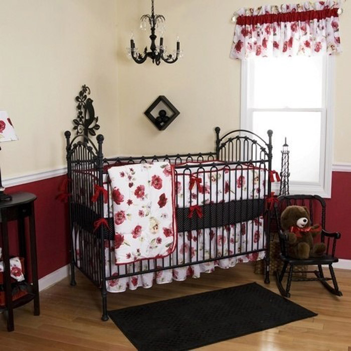 Nightmare before christmas bathroom decor - Gothic Baby Juvenile Hall Design
