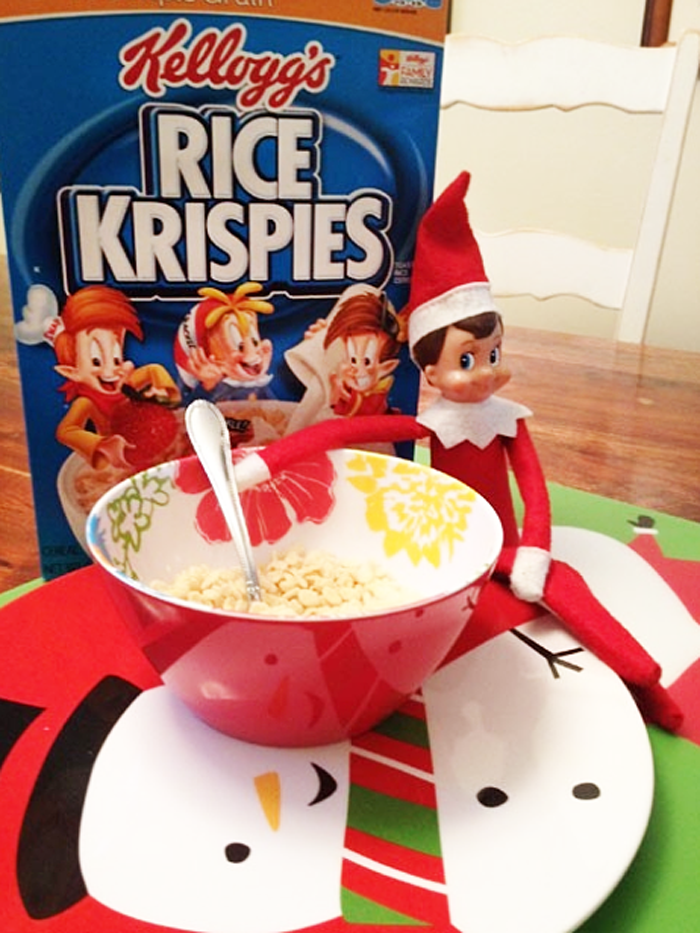 12.  Snap crackle, pop, elf.  From  ivillage
