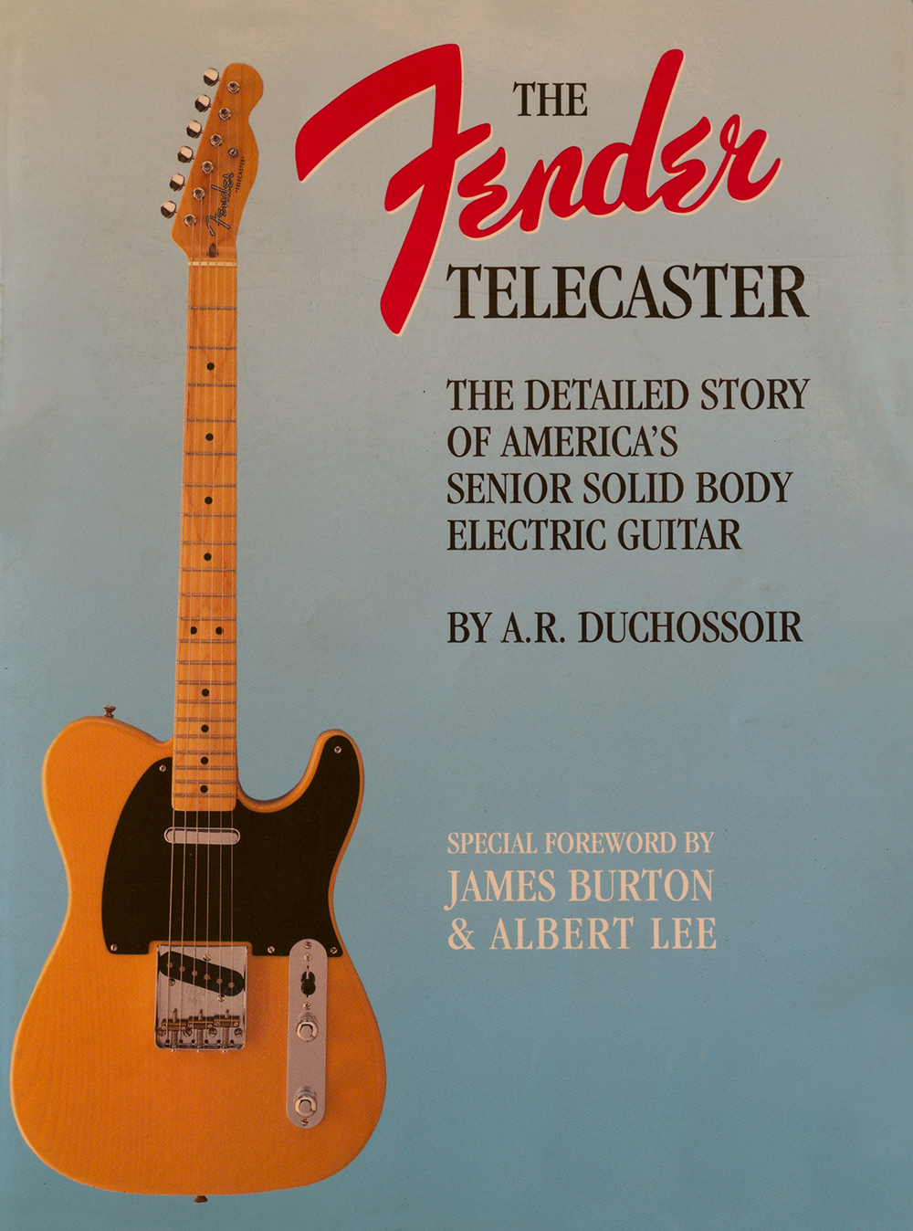 fender telecaster, by andre duchossoir