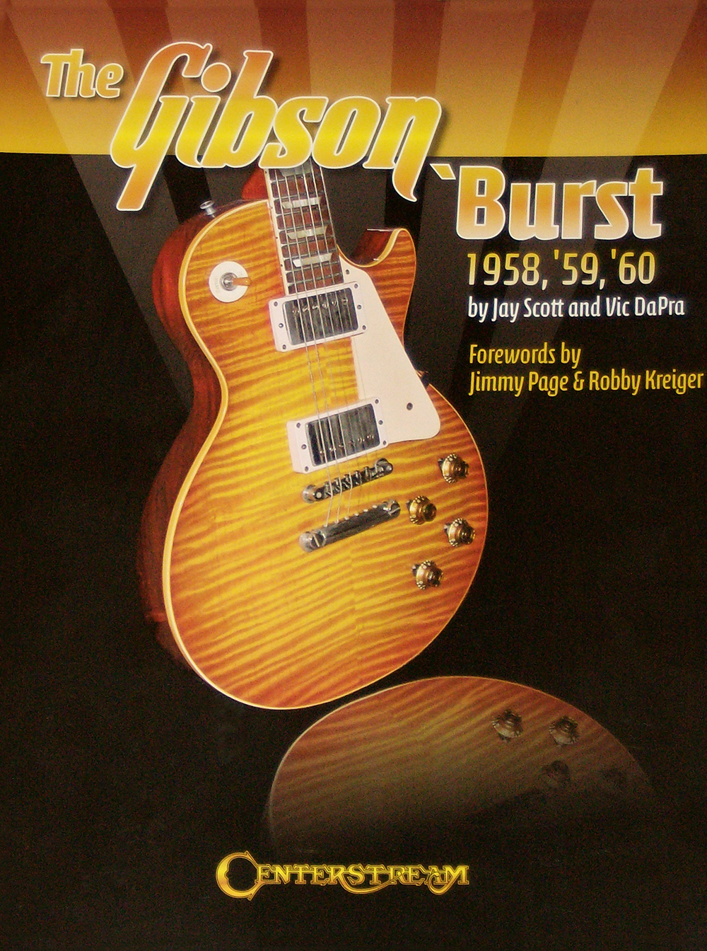 the gibson burst, by vic dapra, jay scott