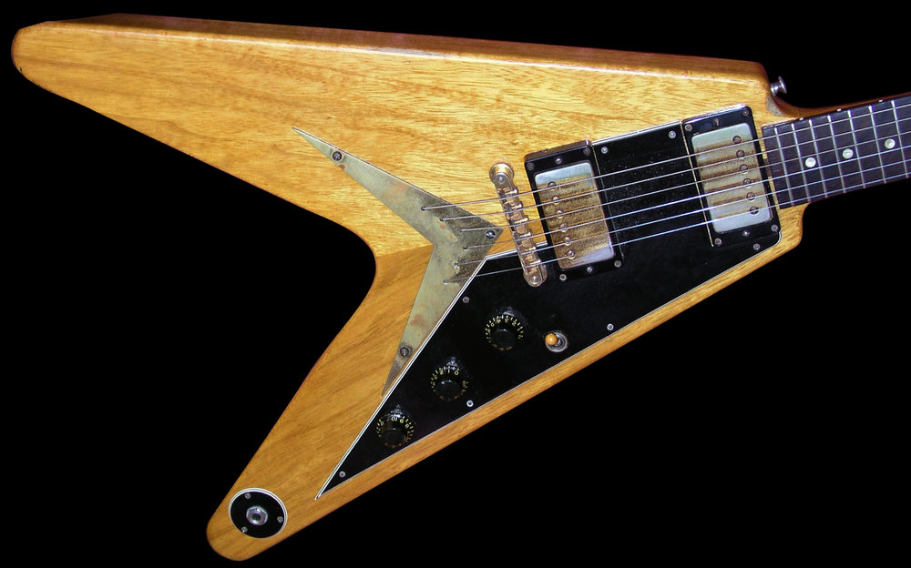 "1957 Korina Flying V ""protoype"" w/Handcut Pickup Routs"