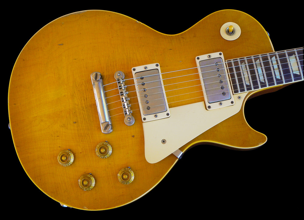 1959 Les Paul Standard, Cherry Sunburst (faded)