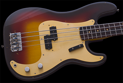 1959 Precision Bass, Anodized PG, Rosewood Fingerboard