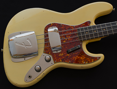 1960 Jazz Bass, Concentric Knobs, Blonde over Ash