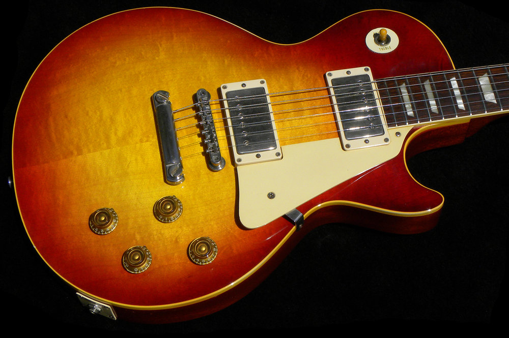 1958 Les Paul Standard, Cherry Sunburst