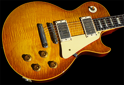 1959 Les Paul Standard, Cherry Sunburst with a Pretty Top