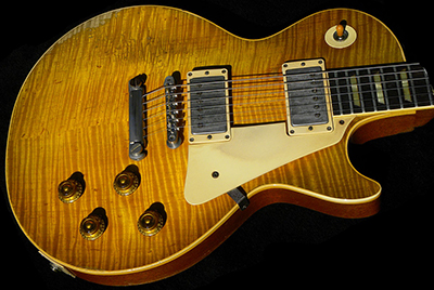 1959 Les Paul Standard, Cherry Sunburst, Flame Top (faded)