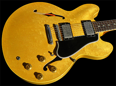 1958 ES-335TN, Natural w/RARE Birdseye Maple Top