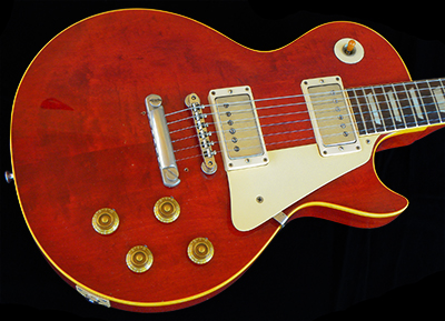 1958 LP Standard, CHERRY RED, 2-Piece center-seam Top