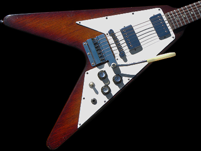 1967 Flying V, RARE model in Sunburst Finish