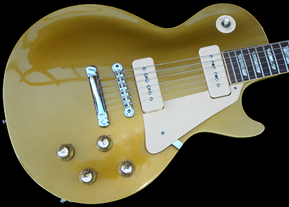 1968 Les Paul Standard, Goldtop, a MINT, CRISP Example