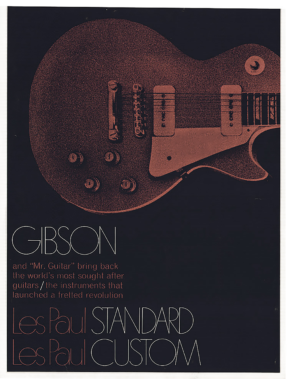 1968 Les Paul brochure cover