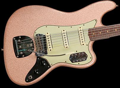 1963 Bass VI, Pink Champagne Sparkle