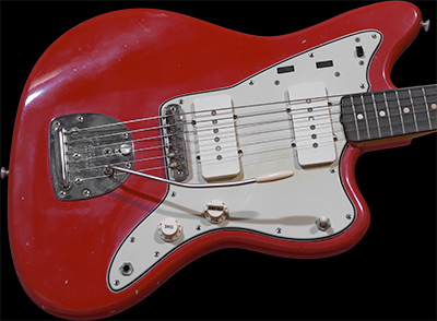 1961 Jazzmaster, Fiesta Red, Slab Neck