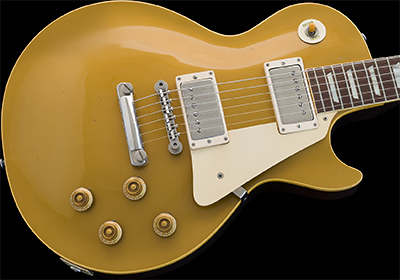 1958 Les Paul Standard, Gold Top (Maple Top)