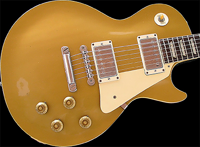 1957 Les Paul Standard, Gold Top (Mahogany Top)