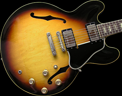 1963 ES-335 TDS, Sunburst, 9.5 condition