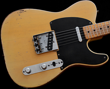 1952 Telecaster, Butterscotch over Ash