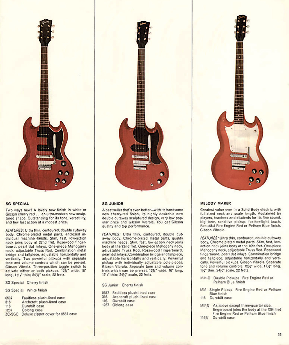 a page from the 1966 catalog