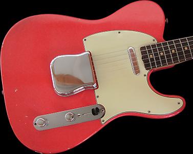 1962 Telecaster, Fiesta Red