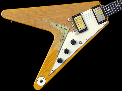 1958 Flying V, Natural Korina