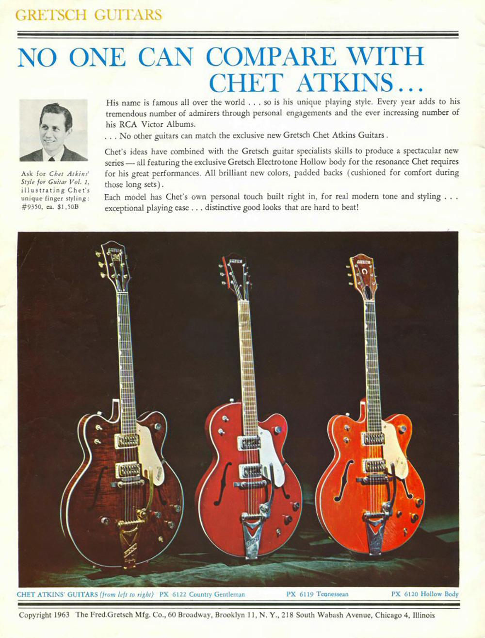 1963 Catalog, Models